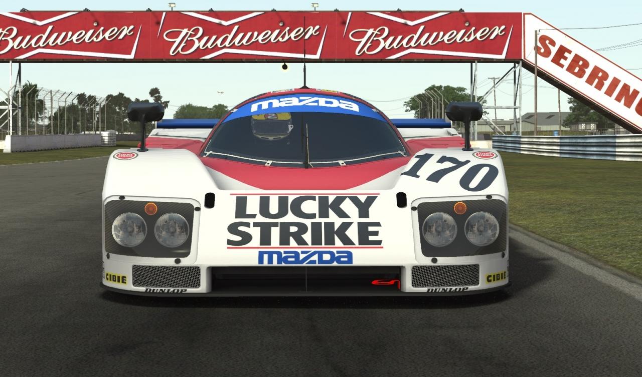 Group C Lucky Strike Mazda