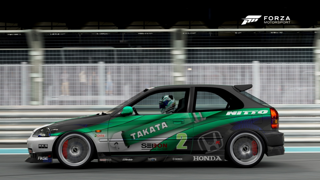 Forza 6 - Civic Type R @ Yas Marina