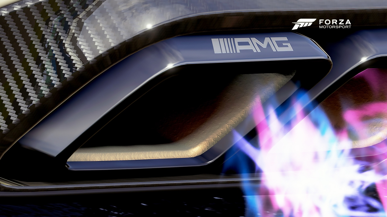 Forza 6 - Detail ^^ @ Mercedes-AMG C63 S-Coupe