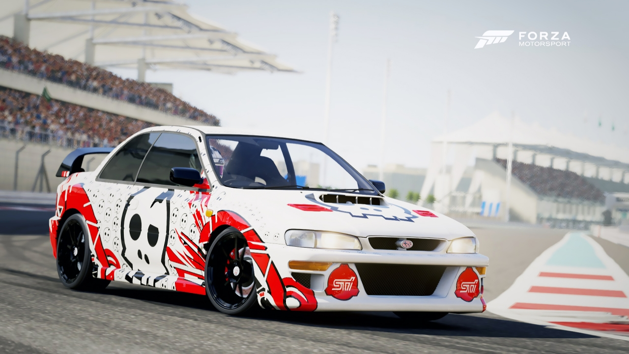 Forza 6 - Subaru 22b @ Yas Marina