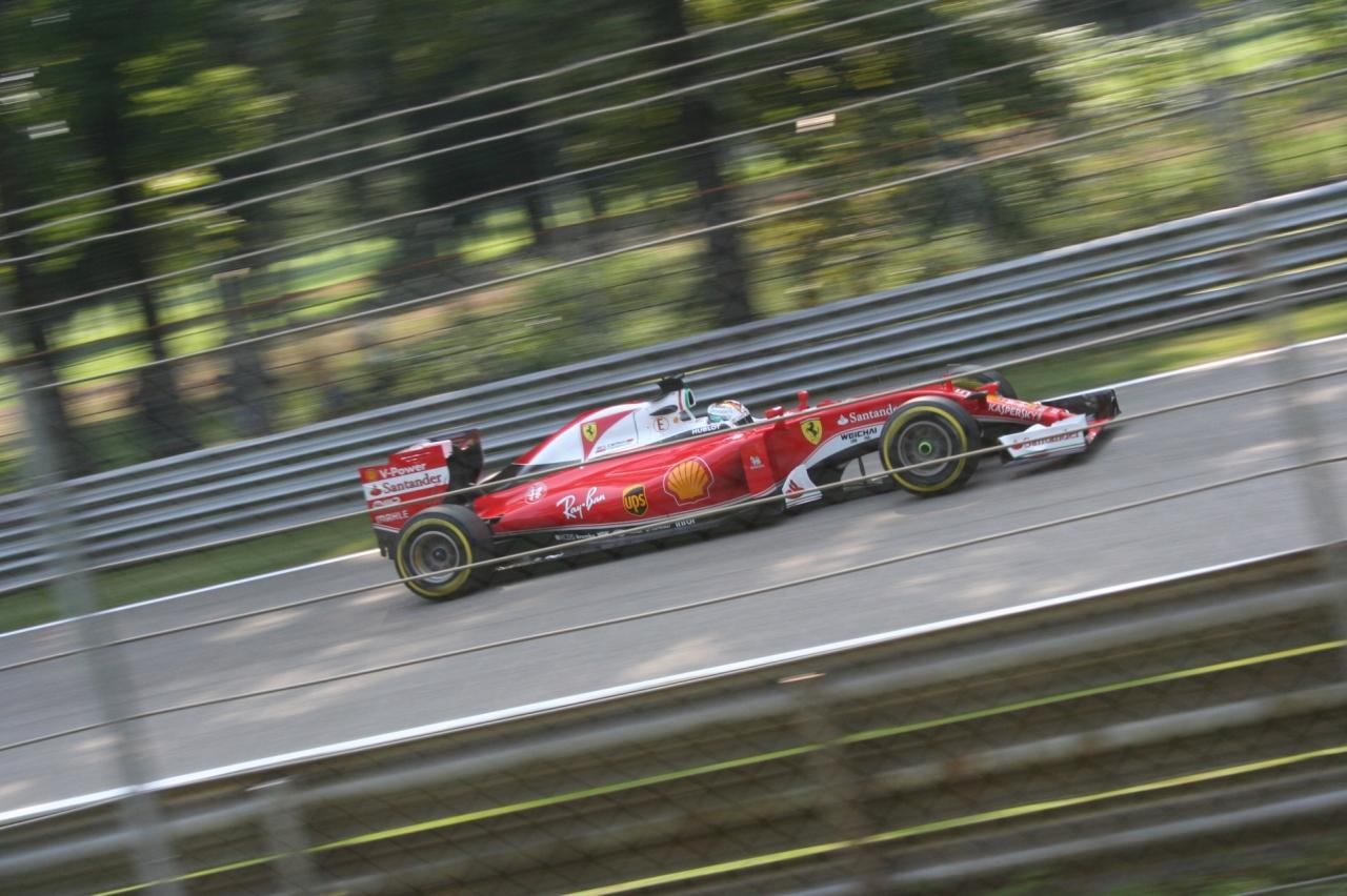 Sebastian Vettel Monza 2016
