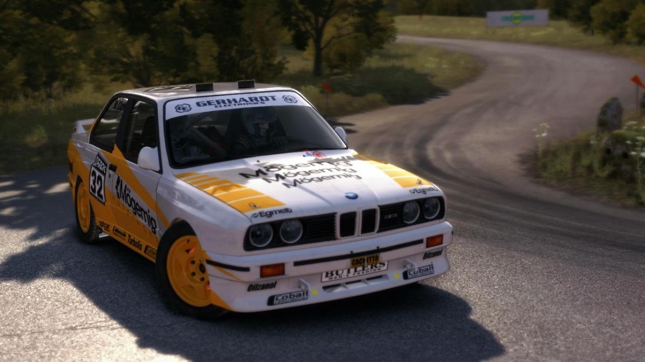 BMW E30 M3 Evo Rally