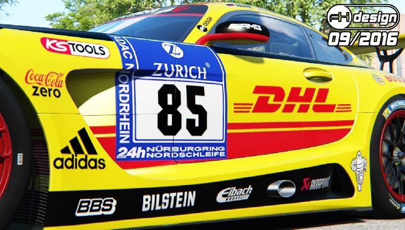WIP DHL AMG GT3 #2