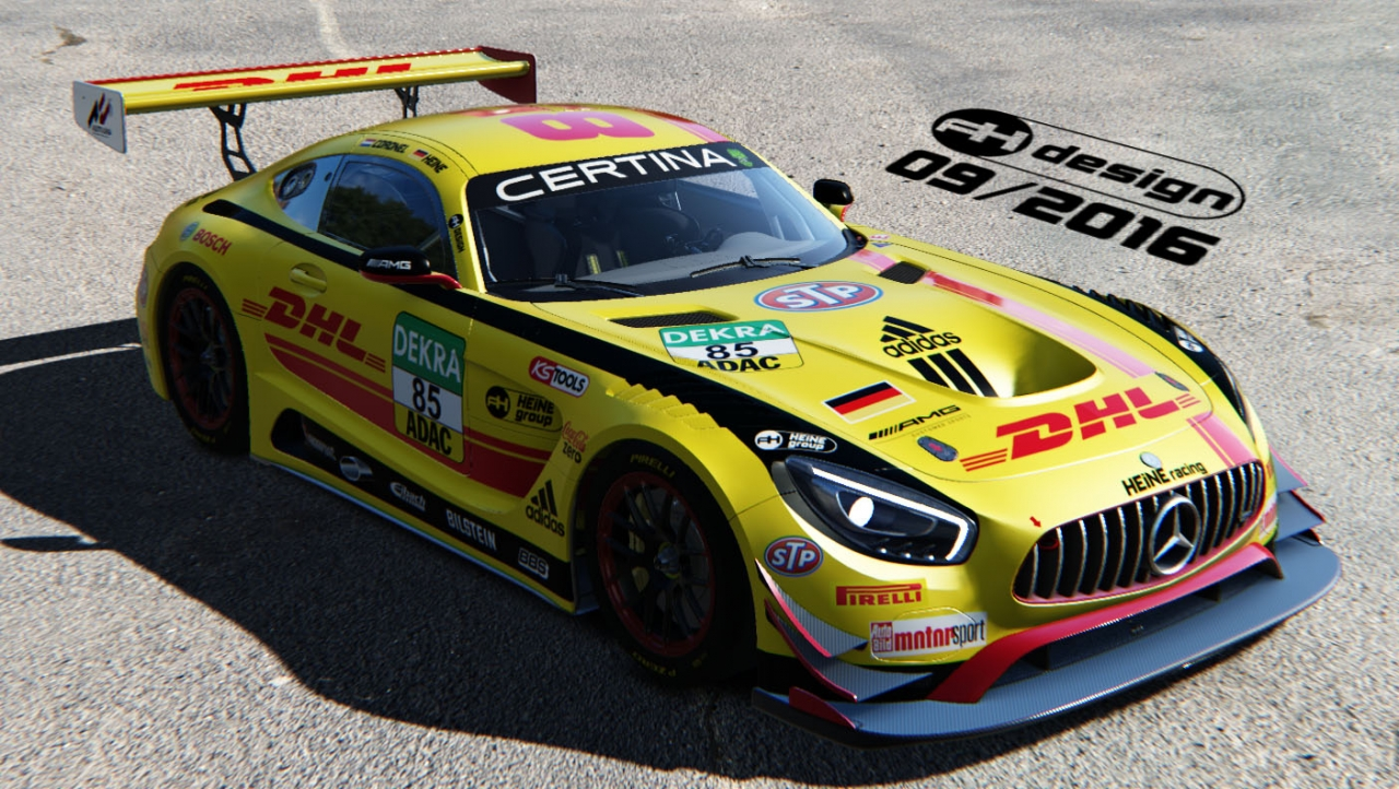 DHL AMG GT3 preview #3