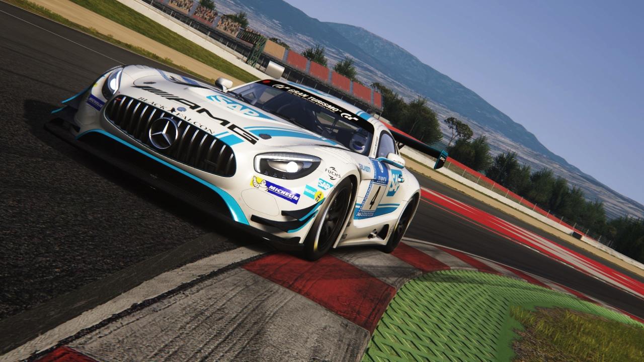 AMG GT3 @ Barcelona