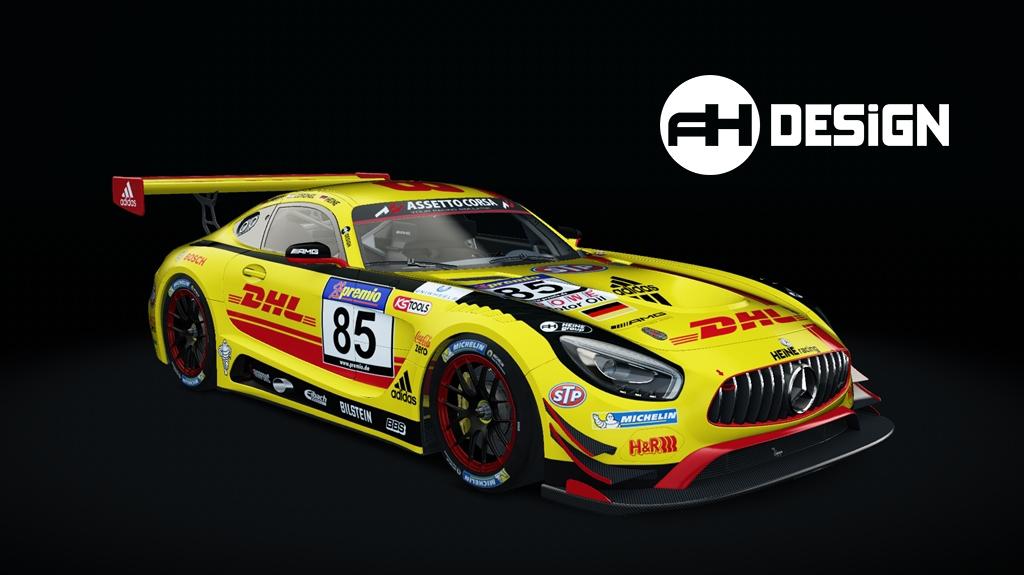 DHL AMG GT3 #4