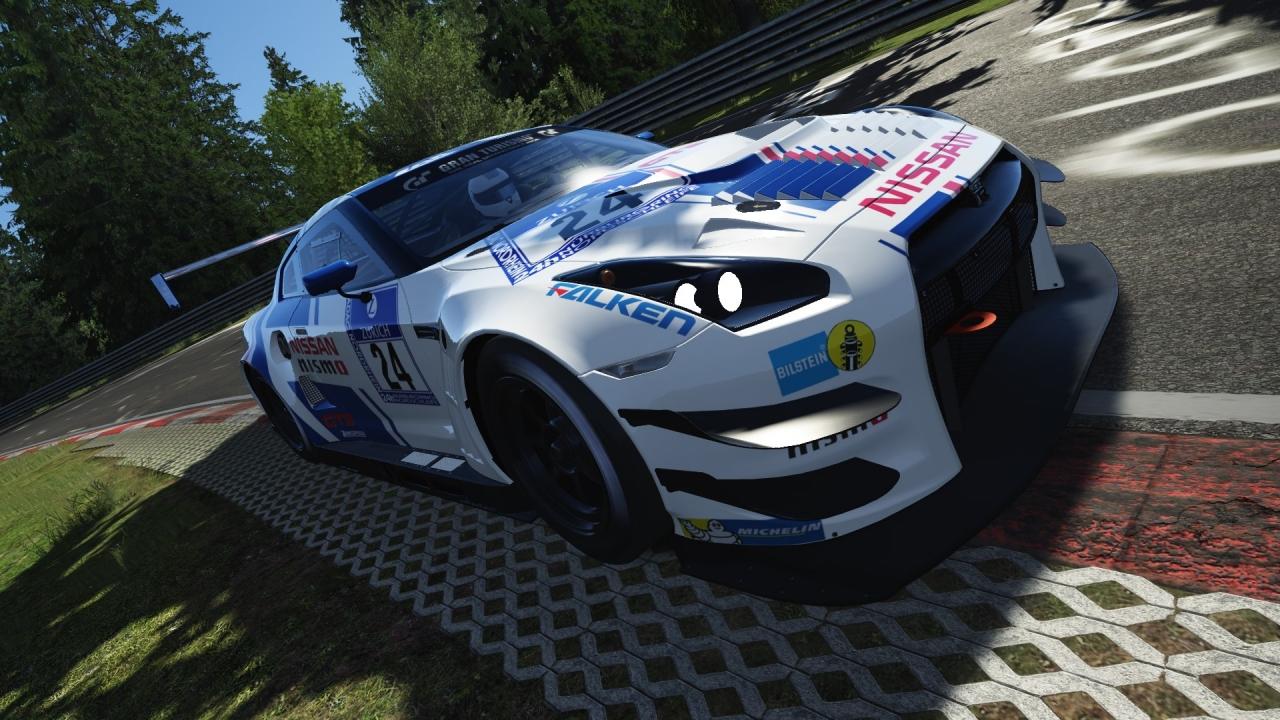 Nissan GTR Nismo GT3 @ Nordschleife