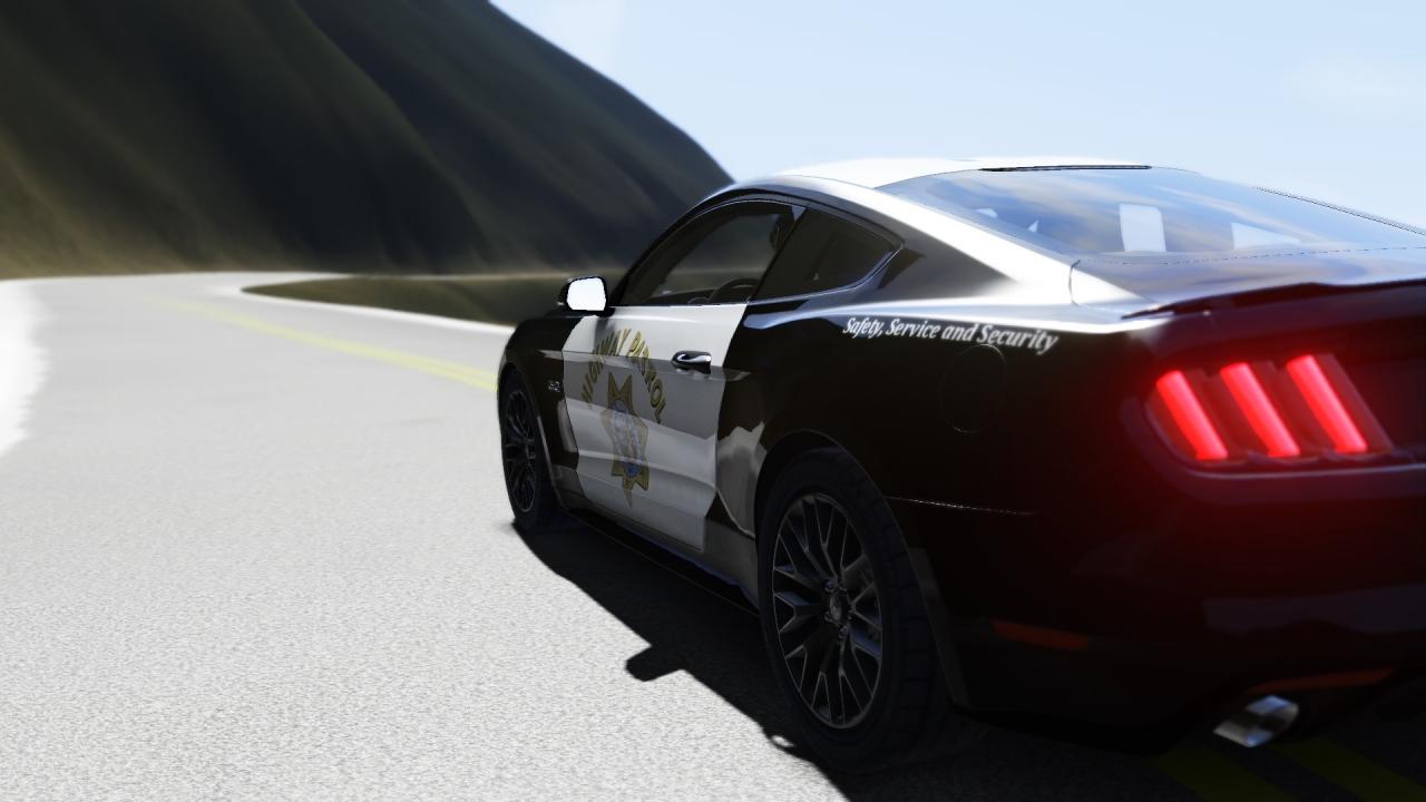 Pacific Coast - Highway Patrol Mustang