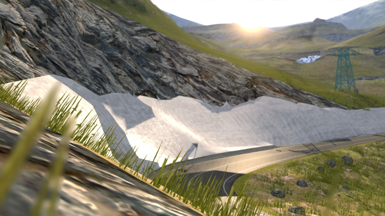 AC / TRANSFAGARASAN (DN7C) / (Romania) /  beta v0.8 coming soon +including high resolution road mesh and more 3d vegetation