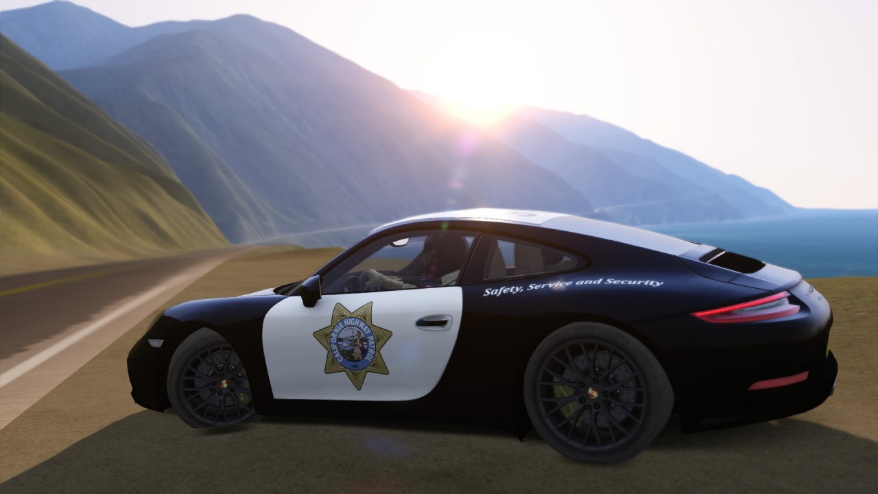 California Highway Patrol - Porsche 991 Carrera S
