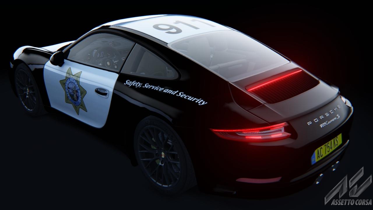California Highway Patrol - Porsche 991 Carrera S