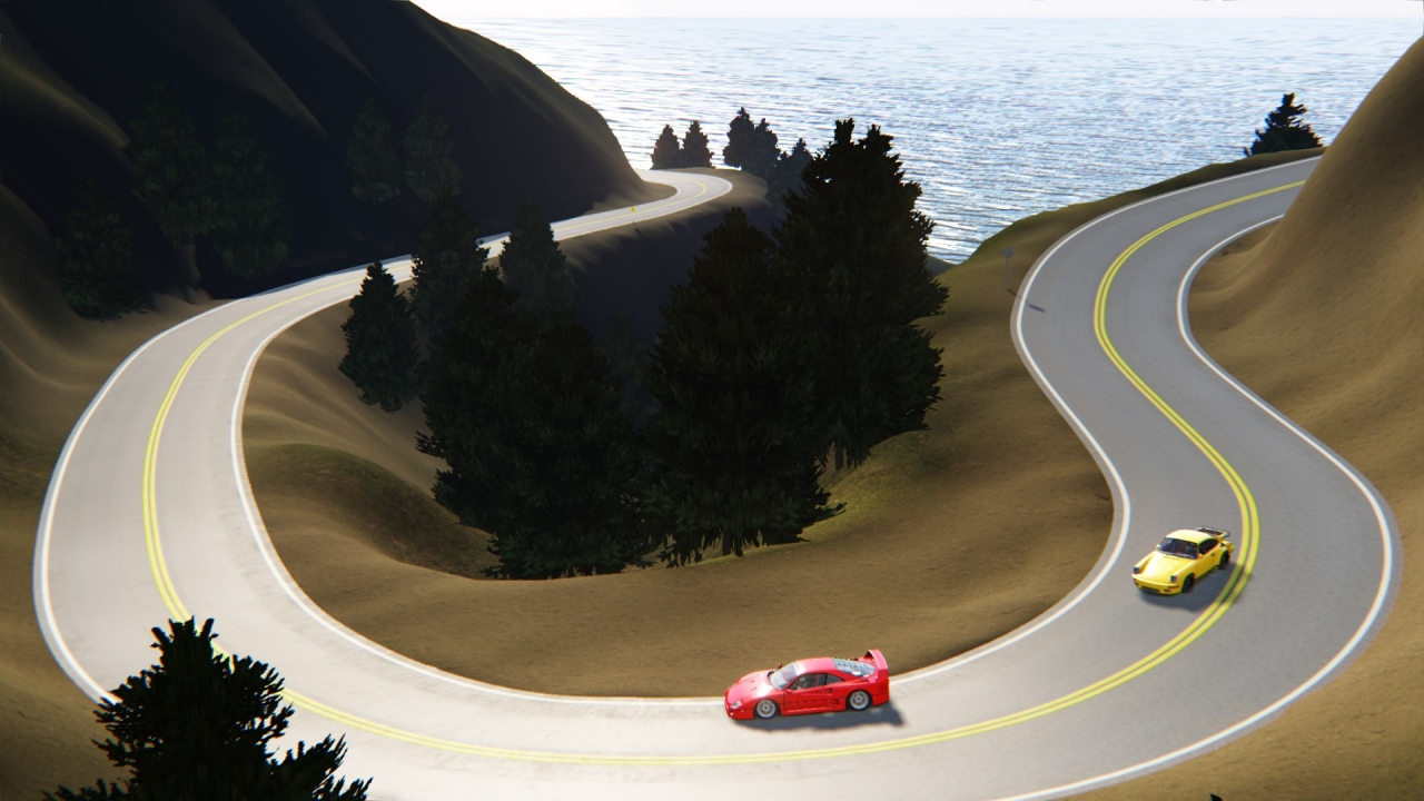 Pacific Coast v0.512 - North & South routes
