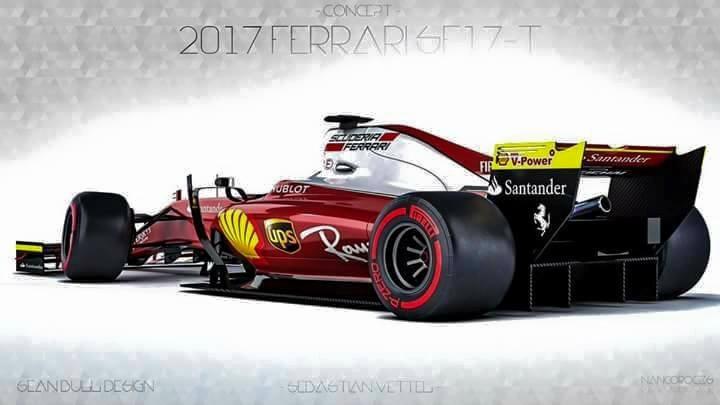 Scuderia Ferrari SF-17H Design for 2017