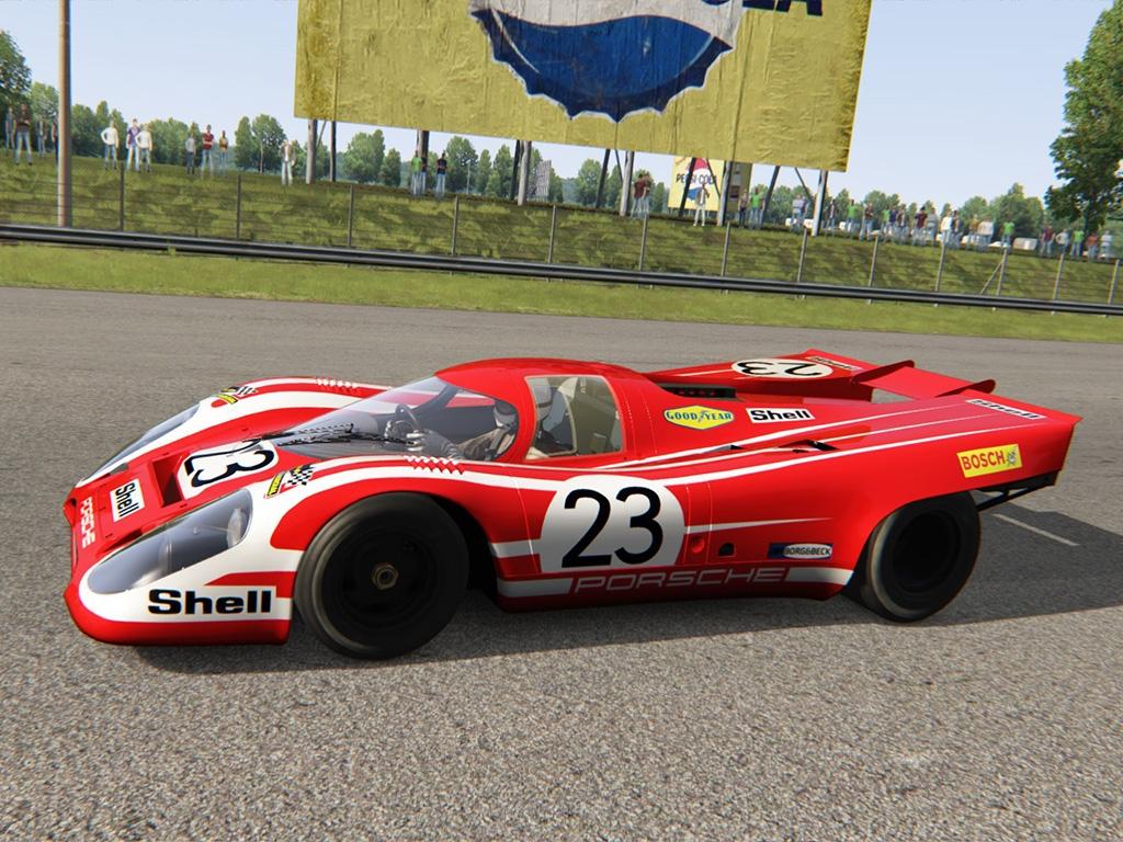 Porsche 917K #23 Le Mans 1970 Winner