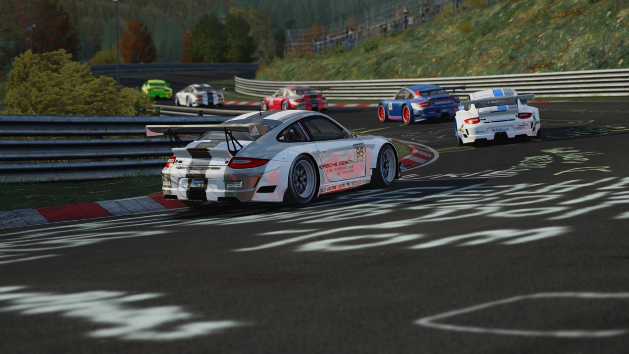 Porsche 911 GT3 Cup Nordschleife