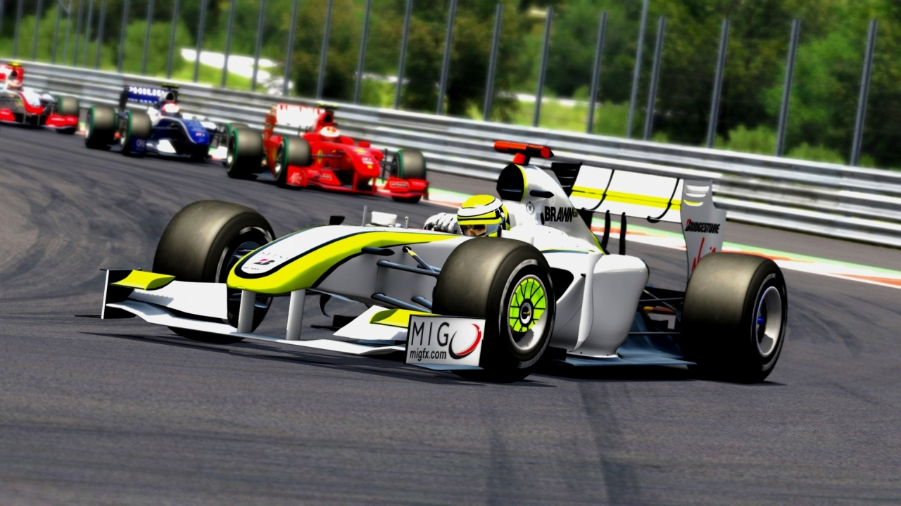 VRC 2009 F1 mod