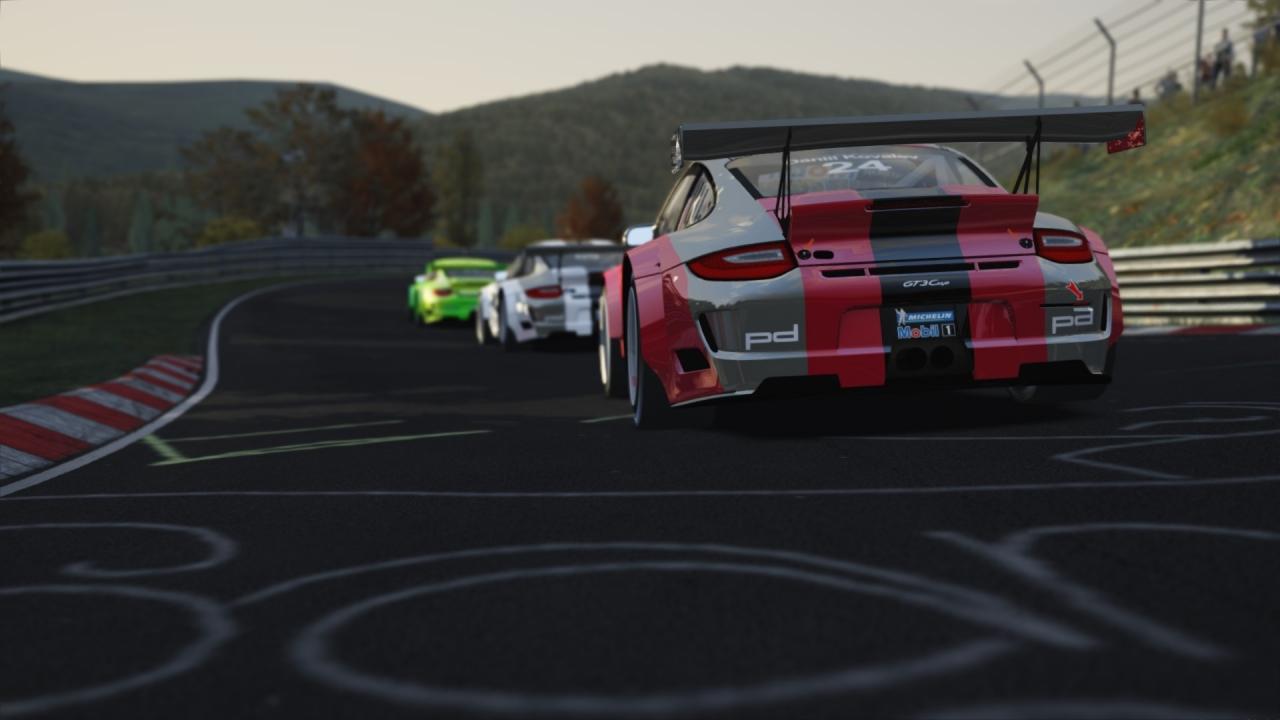 Porsche GT3 Cup Nordschleife
