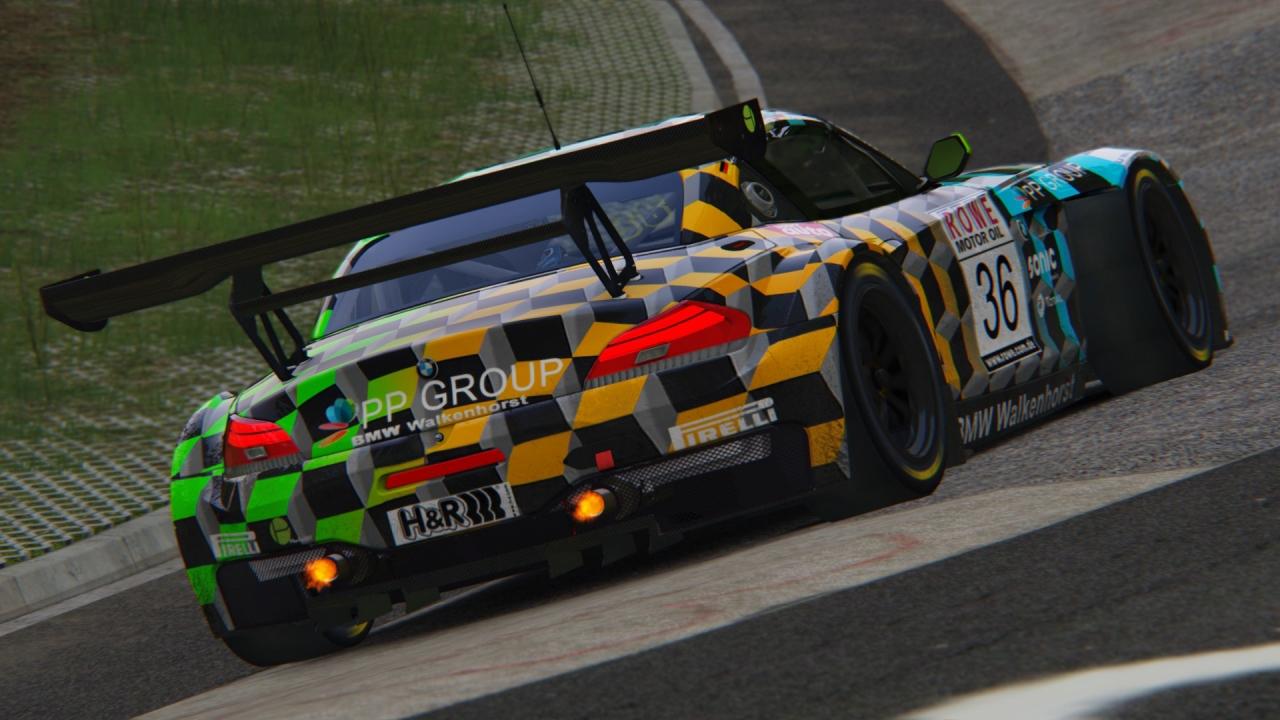 PP Group/Walkenhorst BMW Z4 GT3 VLN