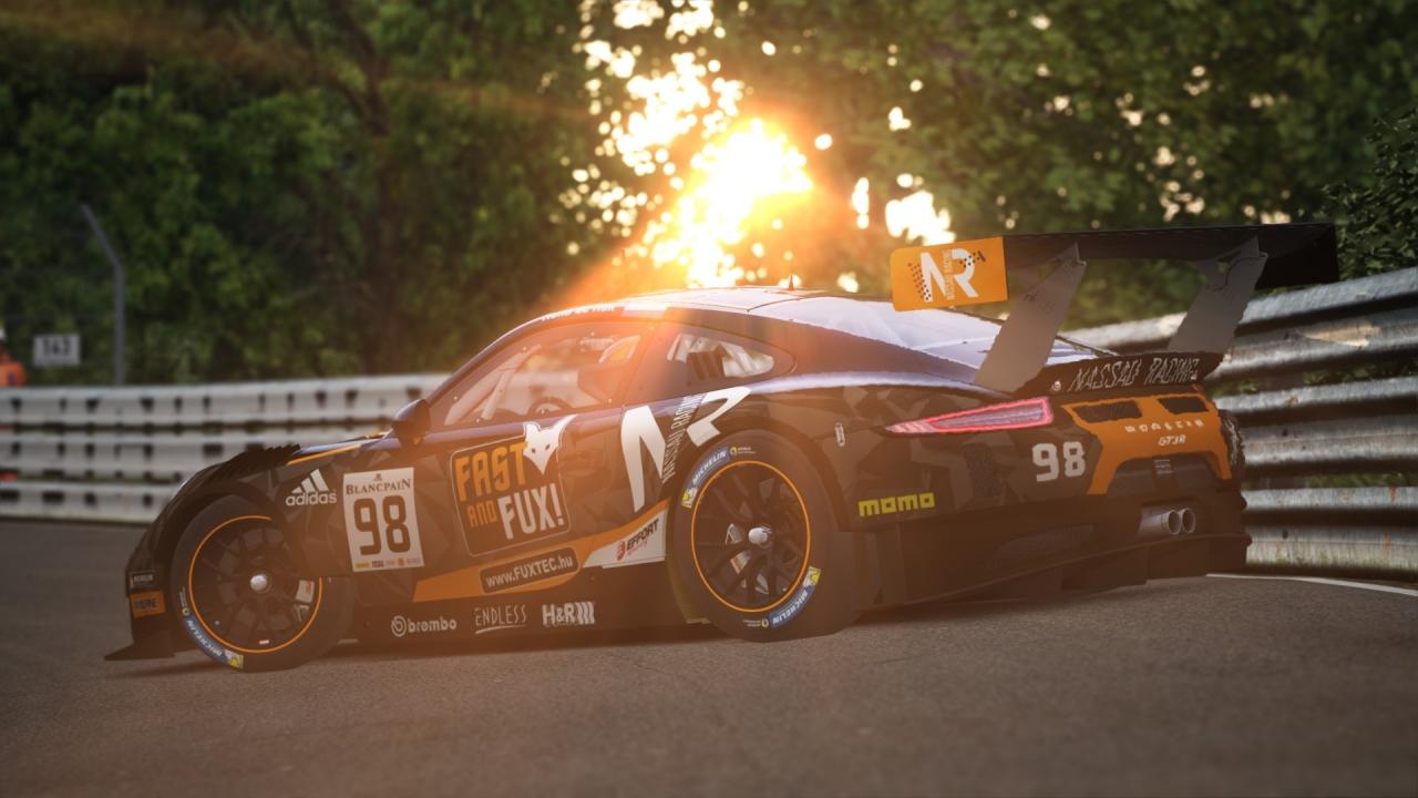 P0rnsche 911 GT3-R