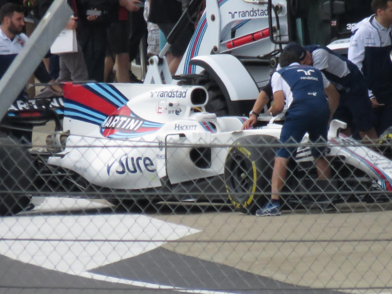 Silverstone Williams 40TH