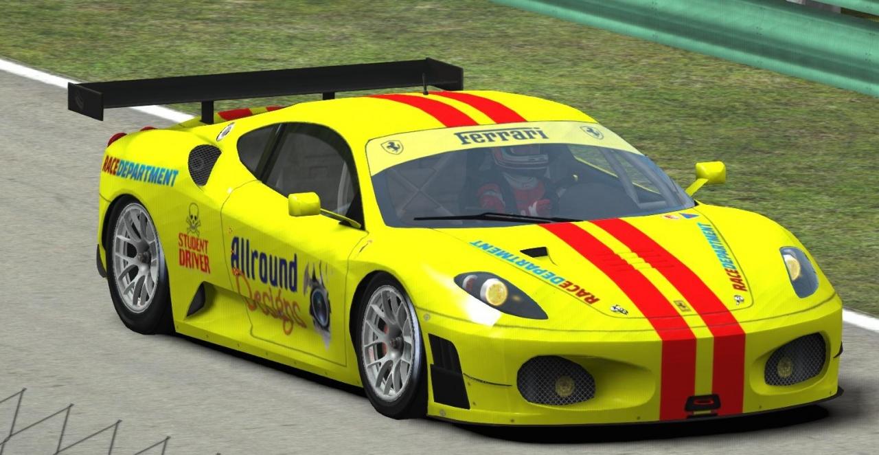 Quick custom livery for Enduracers Ferrari 1