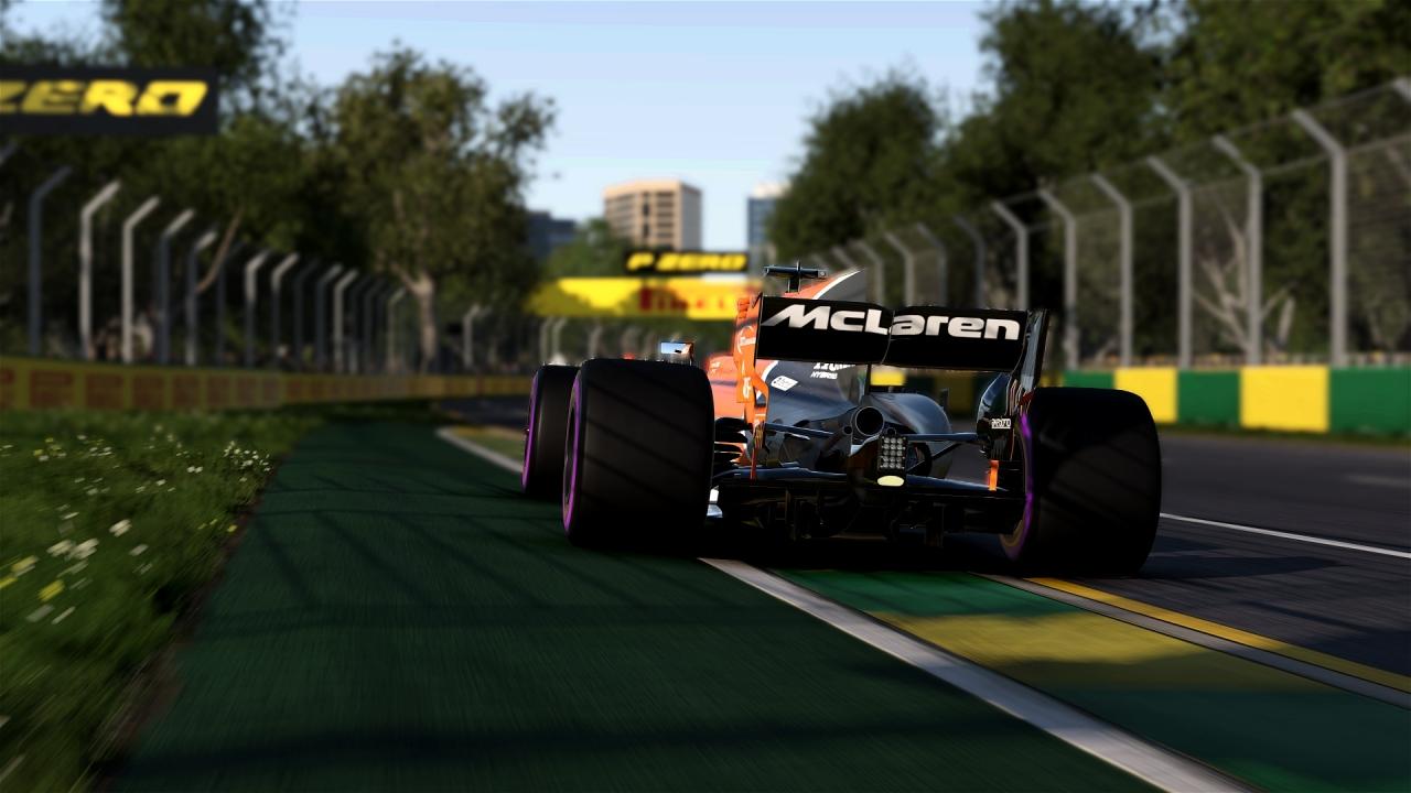 F1 2017 | Career mode (Melbourne)