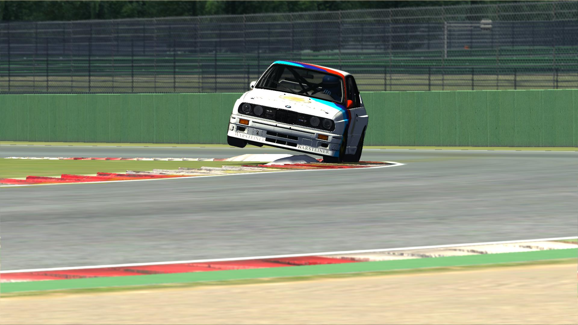 BMW Jump at Vallelunga