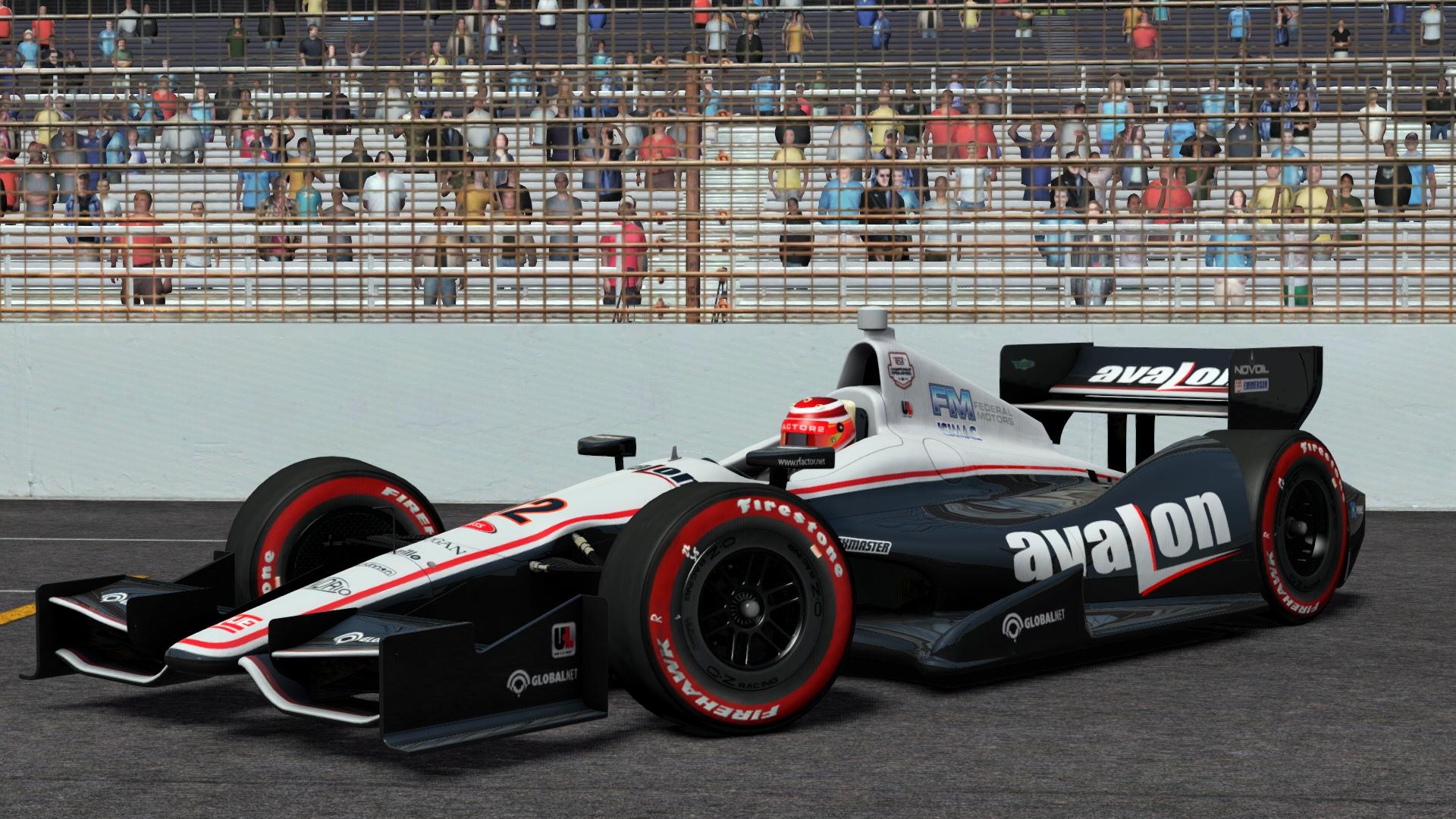Dallara DW12 Indy car @ Indianapolis Motor Speedway