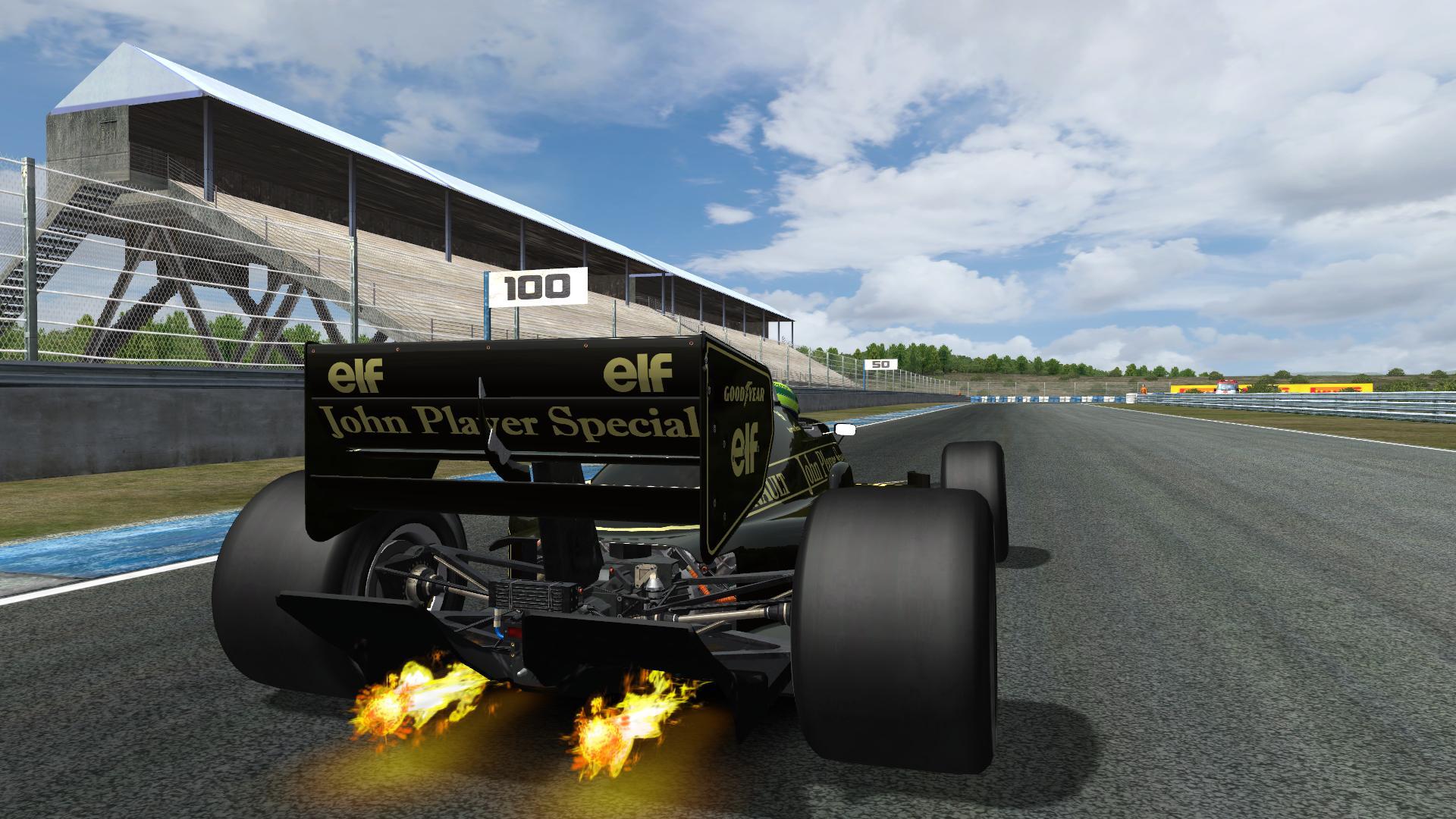 Lotus 98T Flambé 2