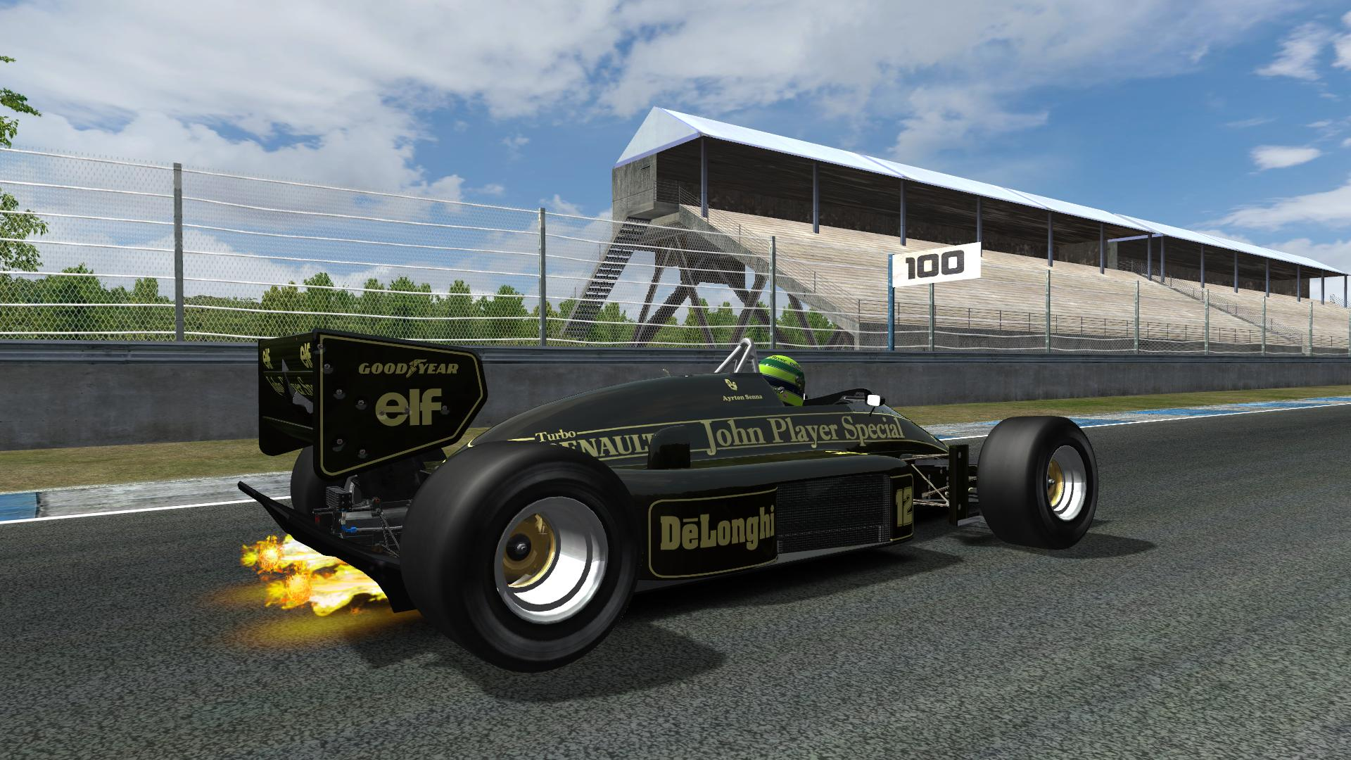 Lotus 98T Flambé 3