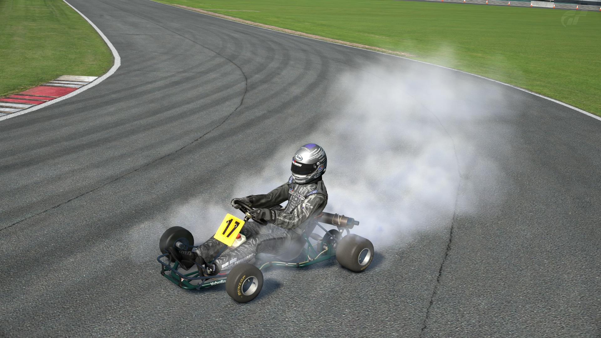 DAP Racing Kart #17 1980