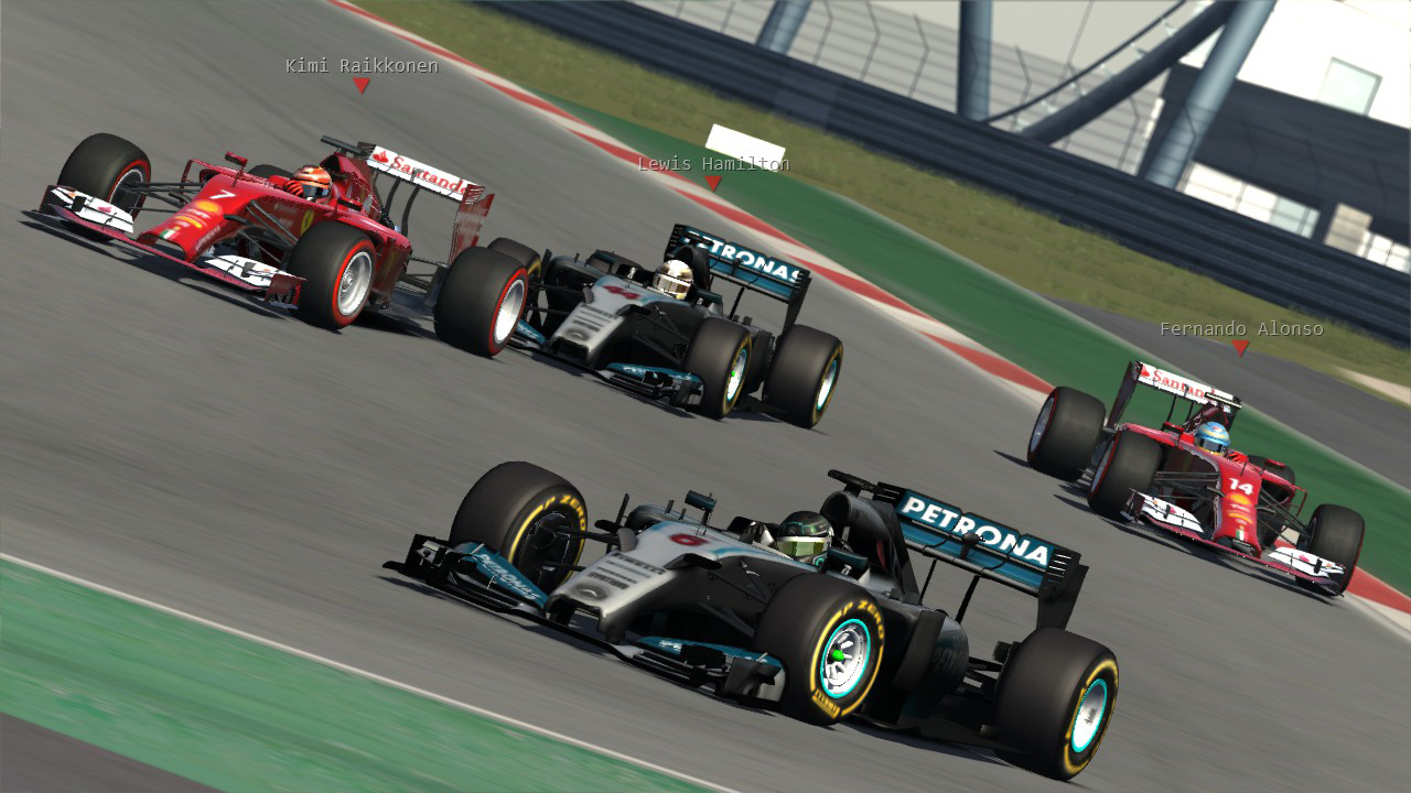 F1 ASR , F1 2014 Season ,