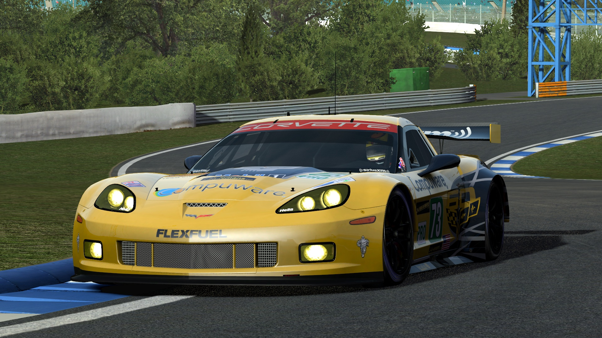 Corvette GT2 @ Loch Drummond