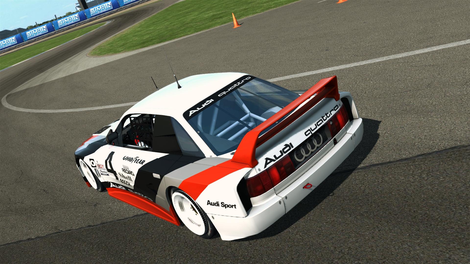 Audi 90 quattro GTO @ Indianapolis GP