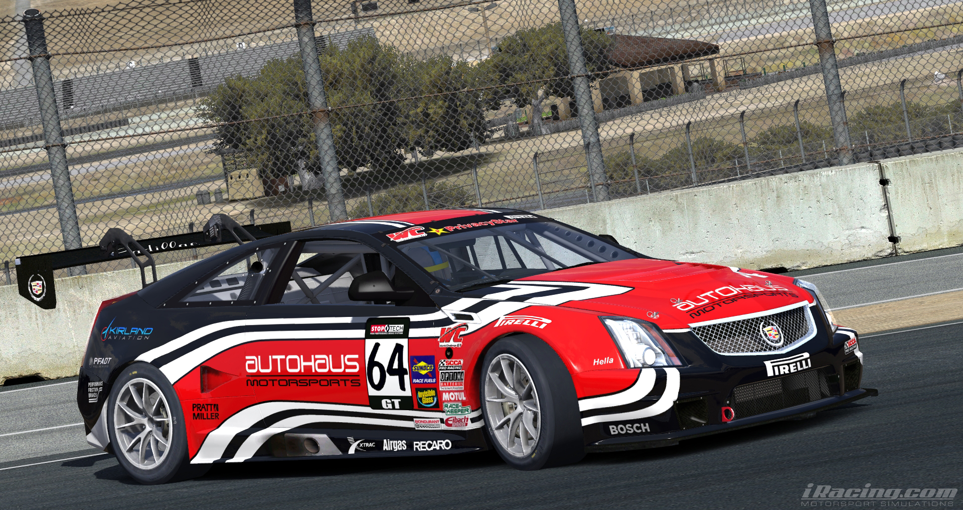 Cadillac CTS-V Racecar @ Laguna Seca