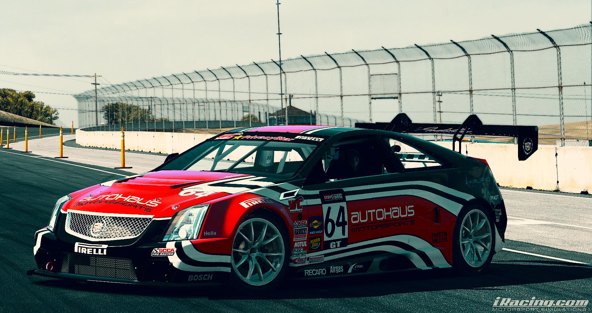 Cadillac CTS-V Racecar @ Laguna Seca [EDITED]