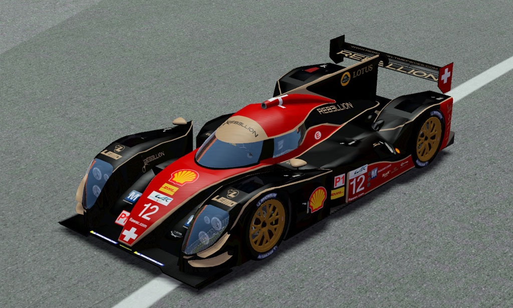 Lola B12/60 Rebellion 12 Red/Black