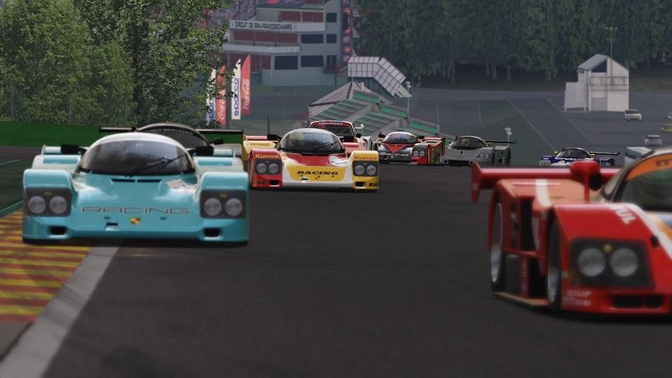 Porsche Fest @ Spa 2