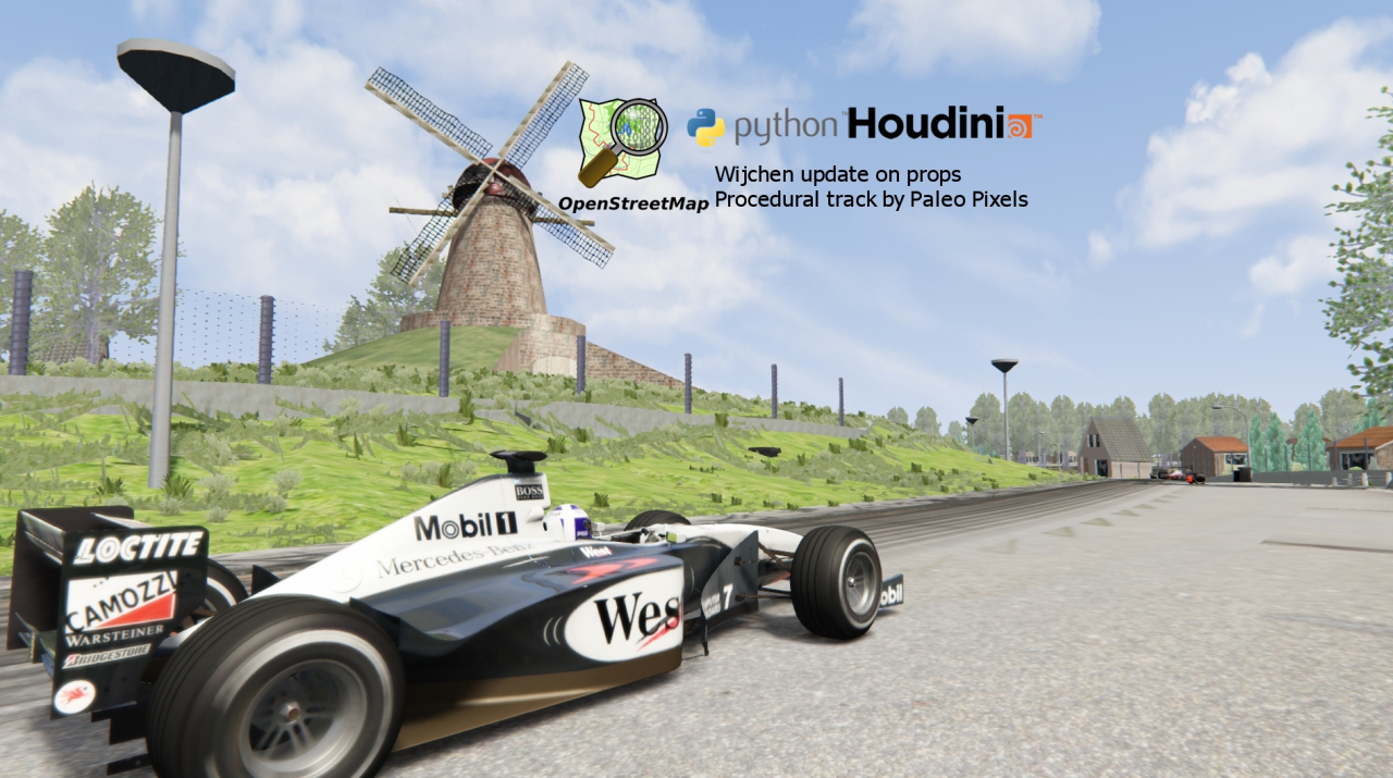 AI driving on racetrack Wijchen