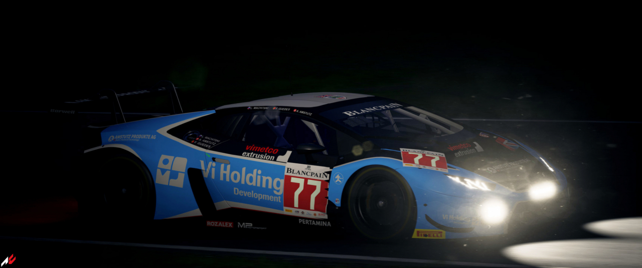 ACC Huracan GT3 Night Run
