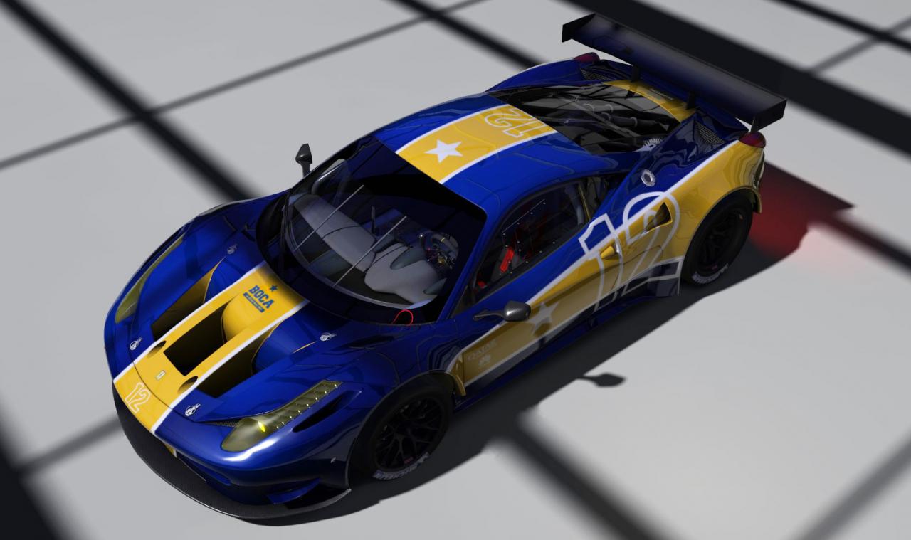 Ferrari 458 - Boca Juniors