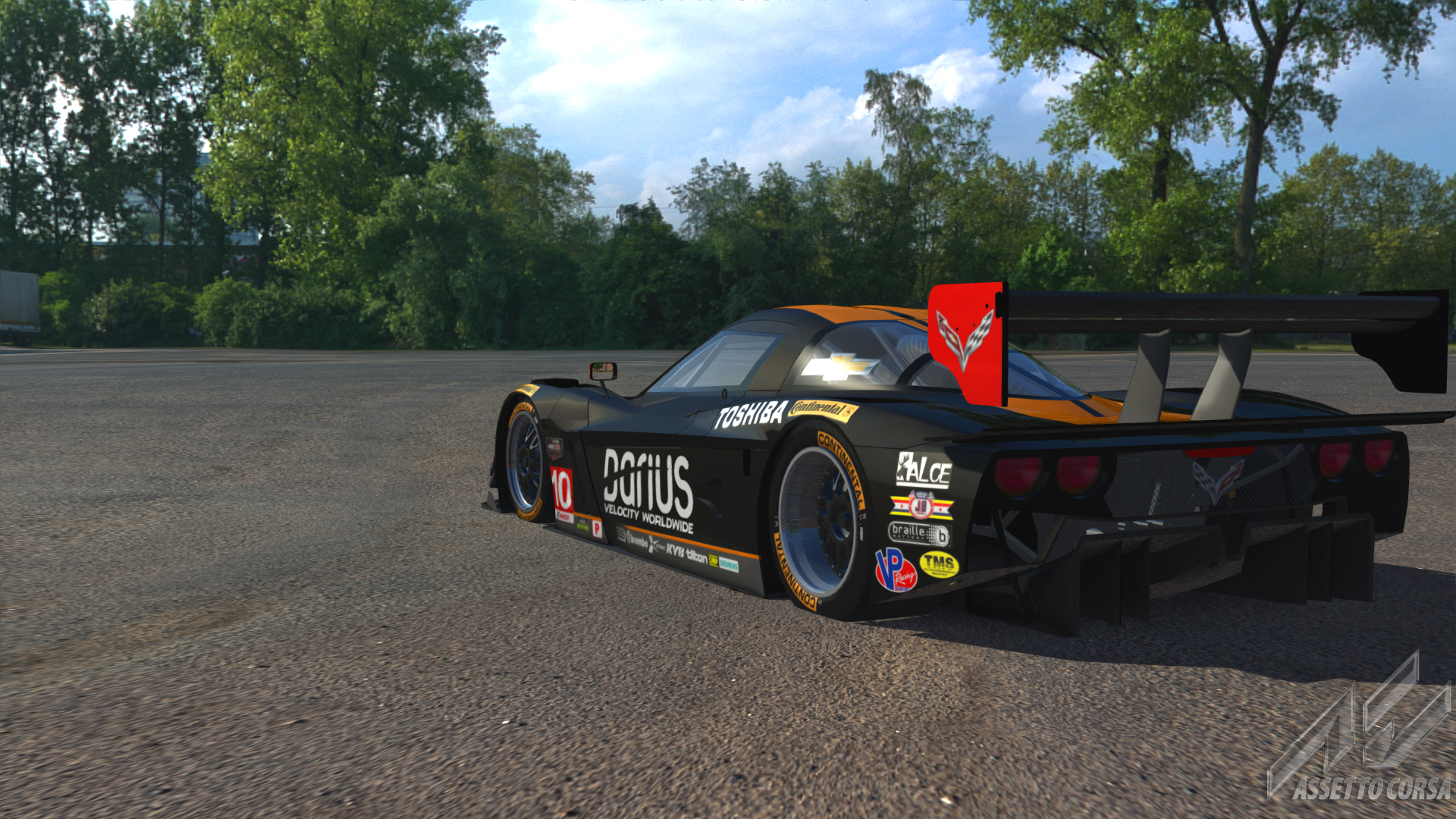Corvette Dp WTR 2013 By DanHerz
