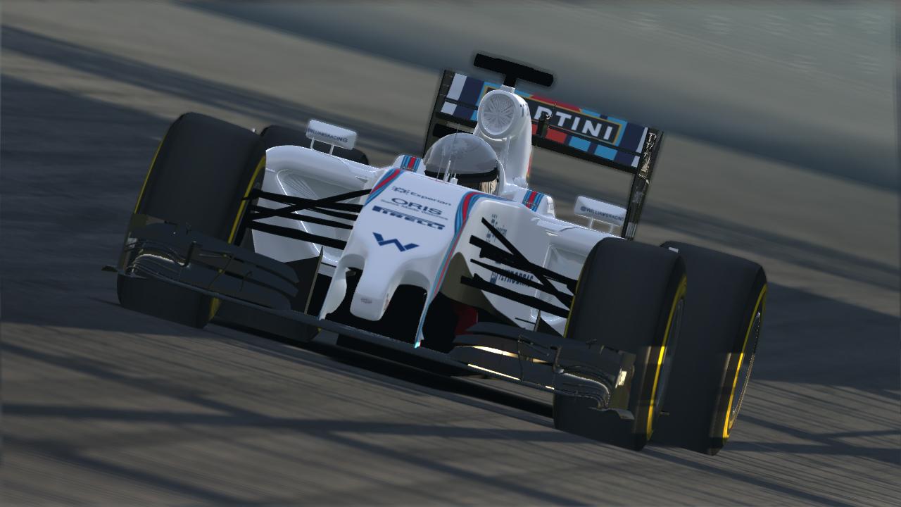 FCM F1 2014 Williams WIP