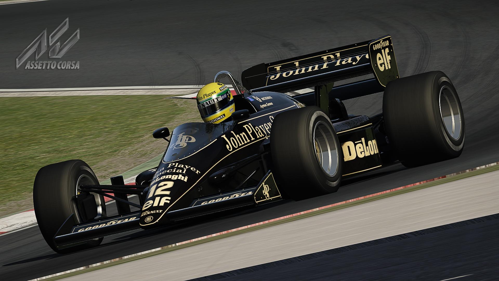 Senna mod at Imola
