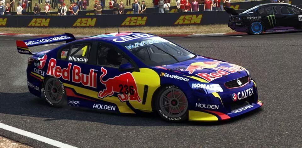 Red Bull Racing V8 Supercar