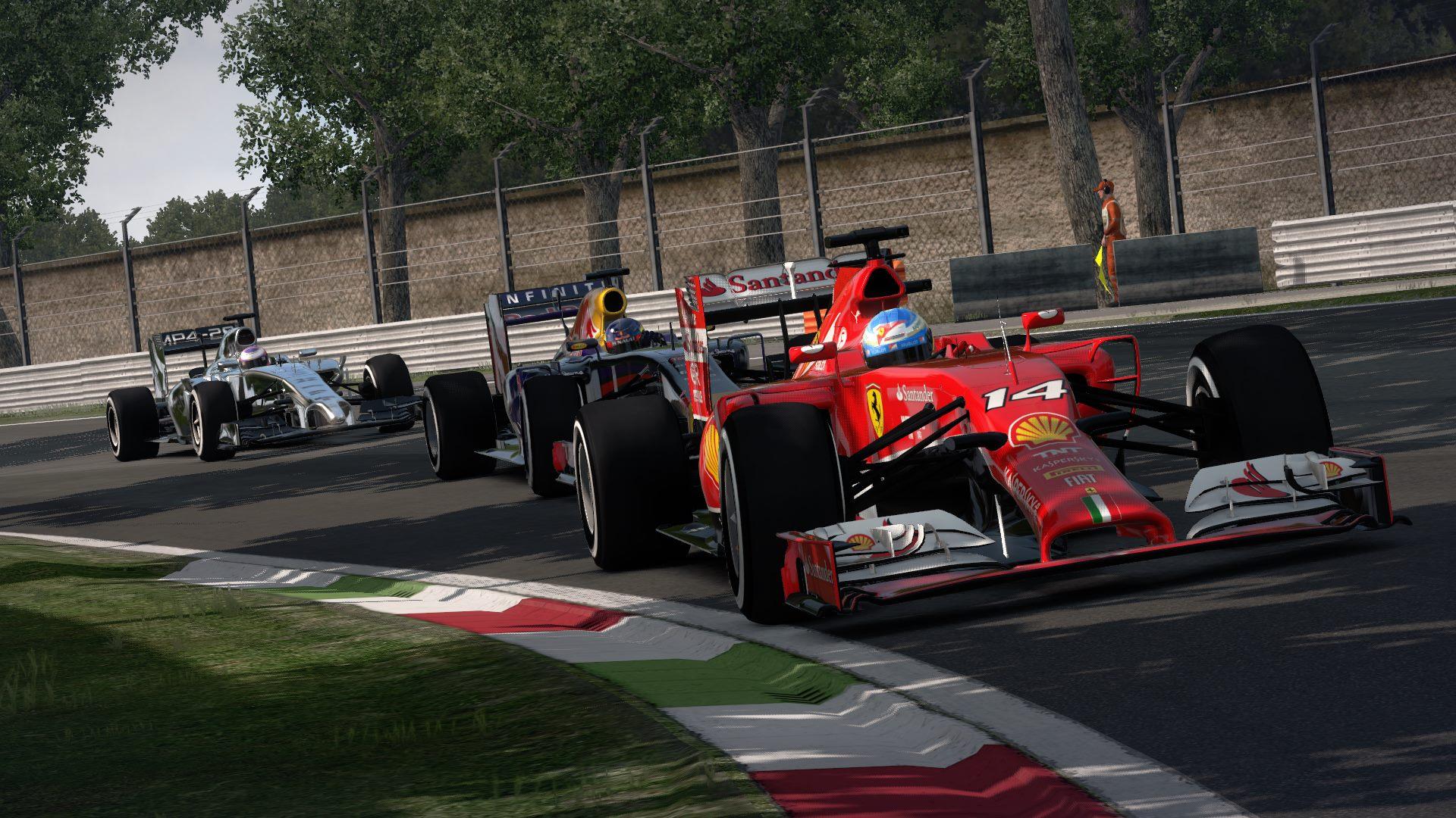 F1 2014 The Game Ferrari
