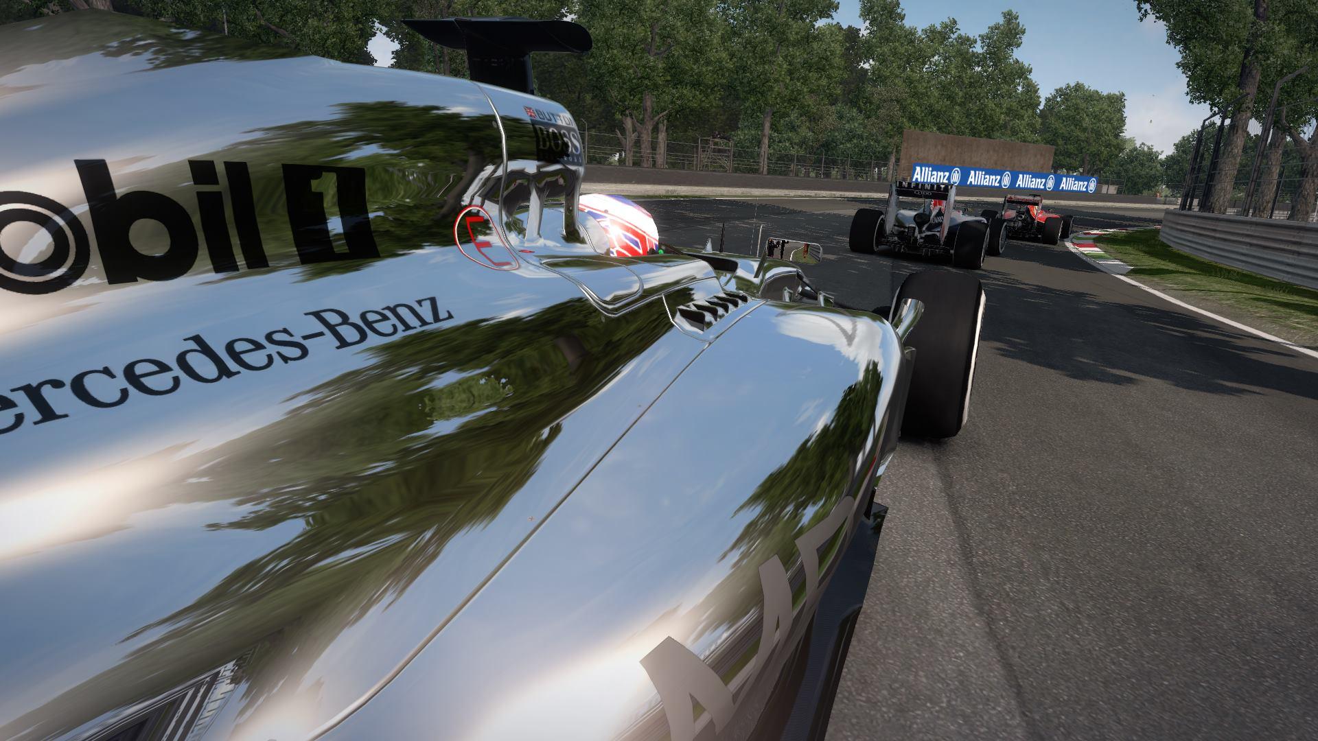 F1 2014 The Game McLaren 2