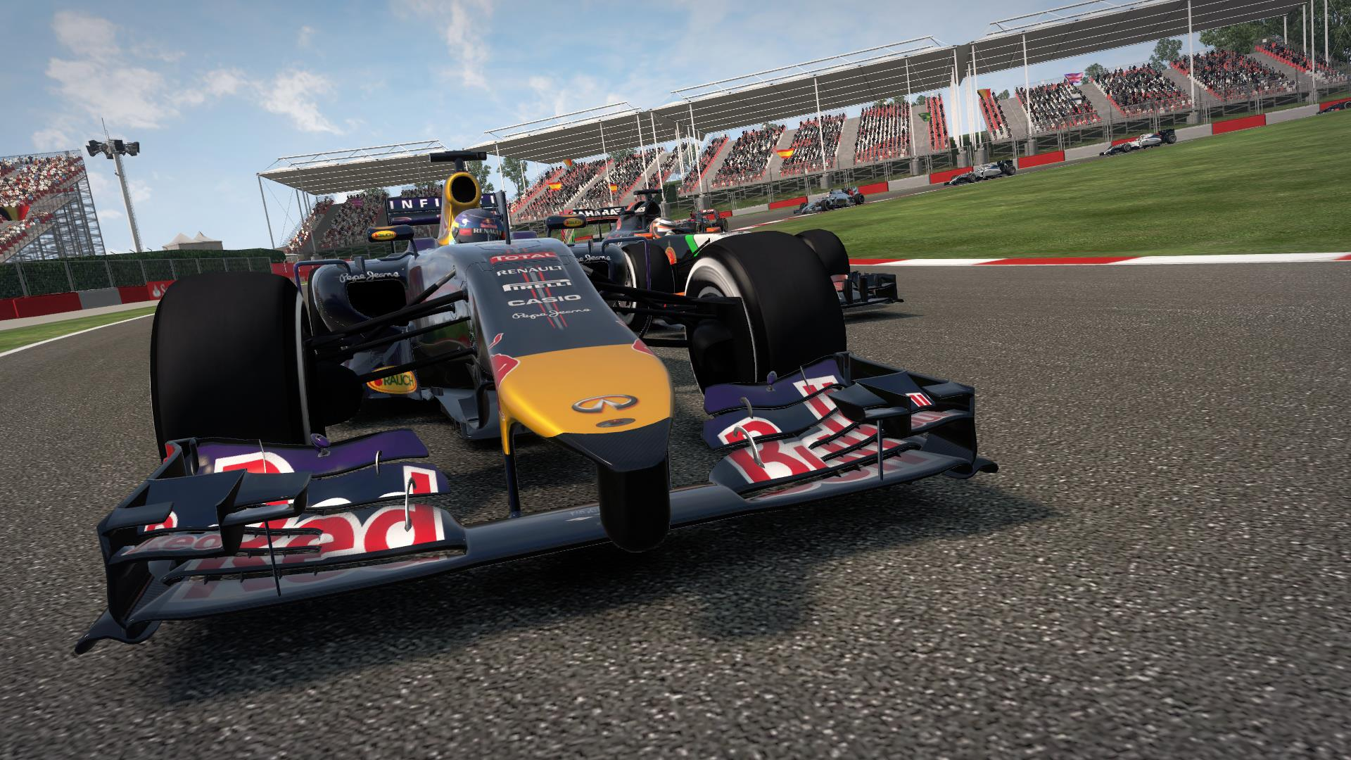 F1 2014 The Game Red Bull Racing