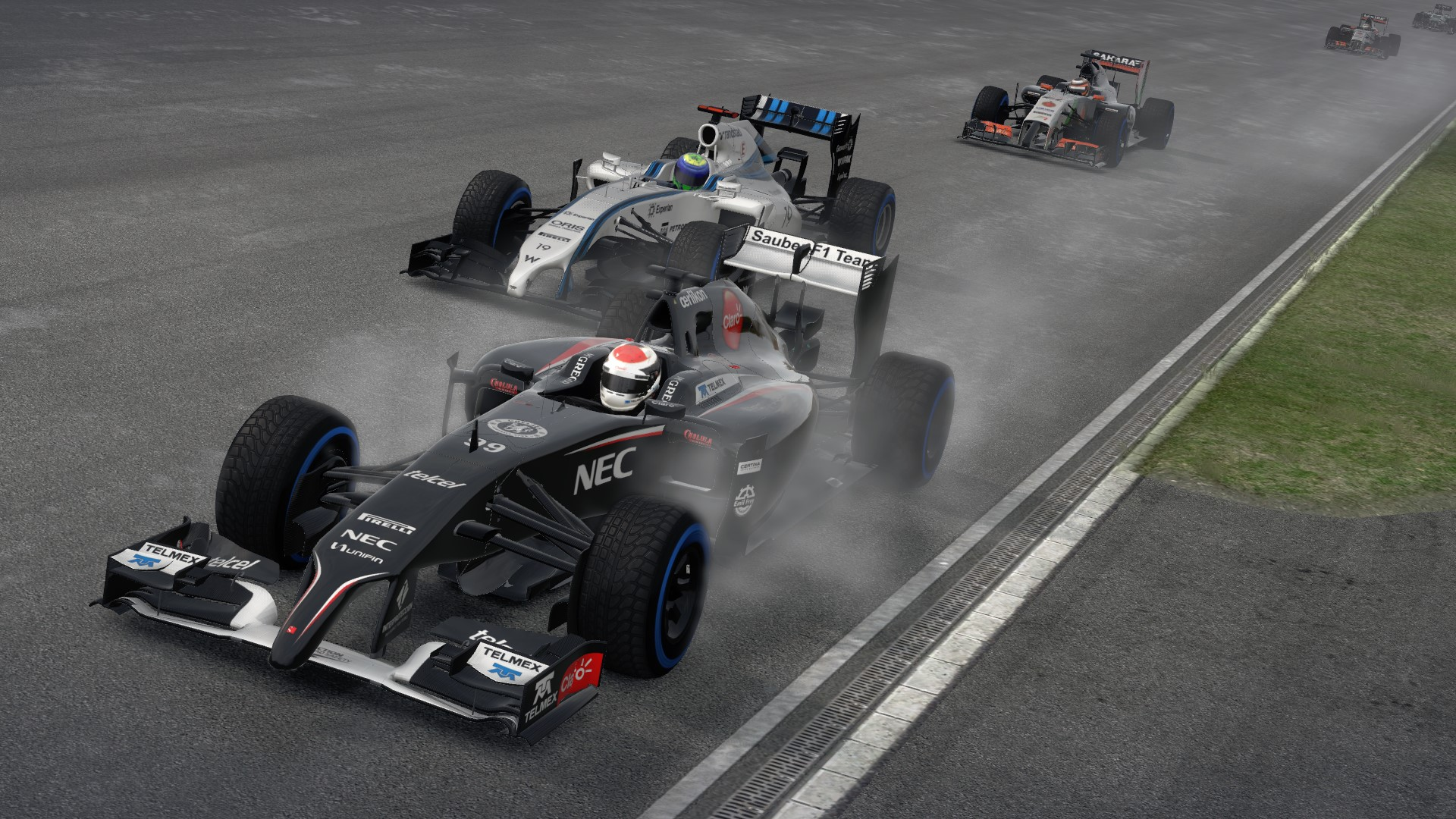 F1 2014 The Game Sauber
