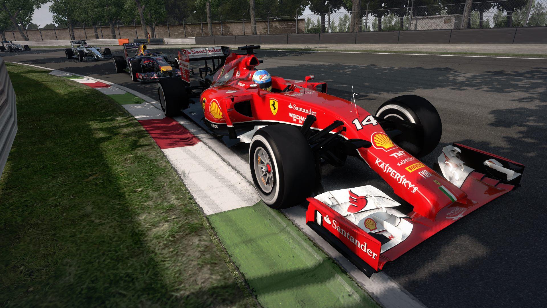 F1 2014 The Game Ferrari 2